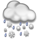 Rain / Snow Showers Late