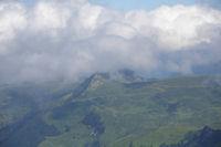 Le Pic de Cantau et le Pic de Berbeillet