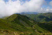 Le Col de Noulate et la crete d'Andreyt