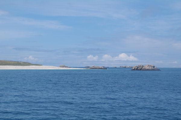 La pointe de l_Ile St Nicolas au Glénan
