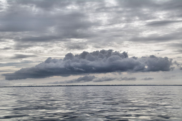 Gros nuage sur Bénodet