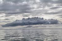Gros nuage sur Benodet