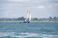Un vieux greement vers la Pointe de Liouse dans le Golfe du Morbihan