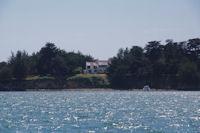 Jolie maison sur l'Ile Branec dans le Golfe du Morbihan