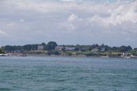 L'Ile Berder dans le Golfe du Morbihan