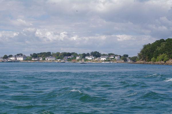 L_Ile Berder dans le Golfe du Morbihan