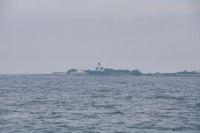 Le phare de la Pointe des Chats sur l'Ile de Groix