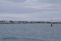 La sortie de Port Haliguen