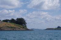 La Pointe de Nioul de l'Ile aux Moines dans le Golfe du Morbihan