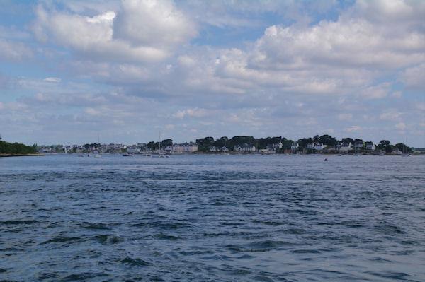 Arzondepuis le Golfe du Morbihan
