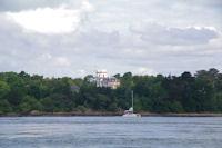 Jolie maison de maitre sur l'Ile de la Jument dans le Golfe du Morbihan