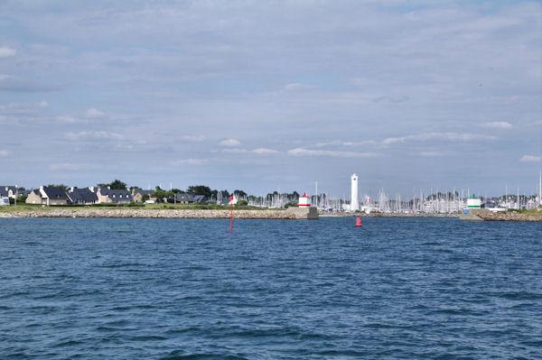 L_entrée du Port du Crouesty