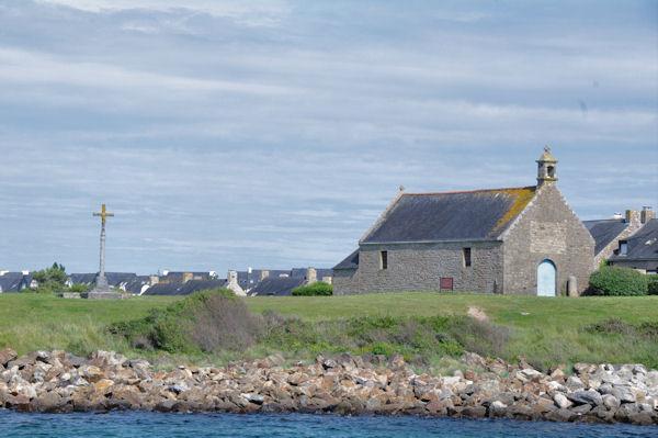 La Chapelle à l_entrée du Port du Crouesty