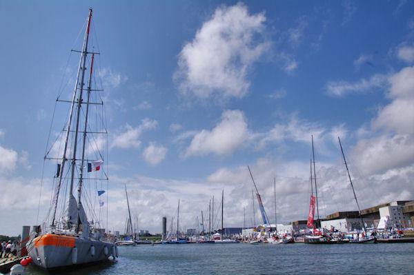 Le voilier Tara, explorateur des mers