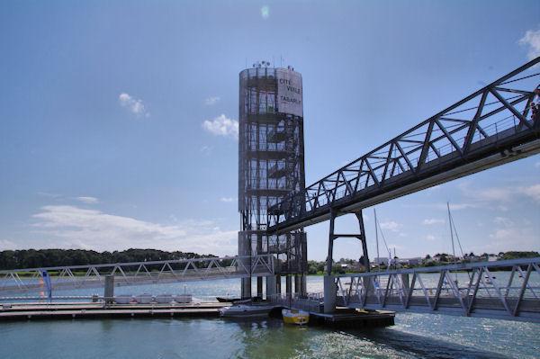 La tour de la Cité de la Voile Eric Tabarly