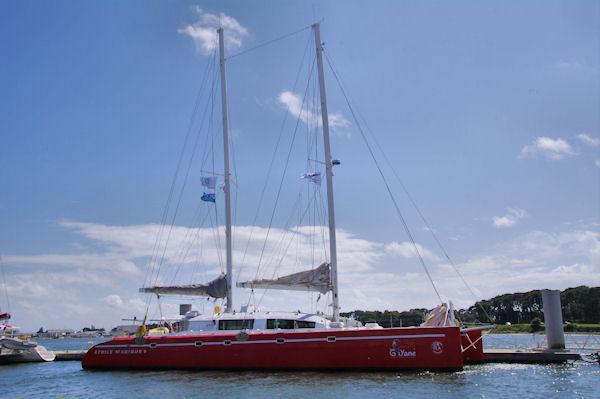 Le catamaran Guyane