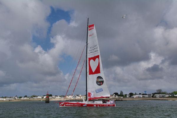 Le voilier Initiatives Coeurs, une fondation pour la protection des enfants