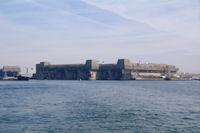 L'ancienne base de sous marin sur la Pointe de Keroman a Lorient
