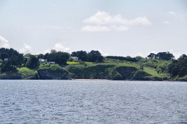 Vers la Pointe de Ramonette sur Belle Ile