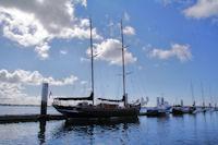 Vieux grement au Port de Kernevel de Lorient
