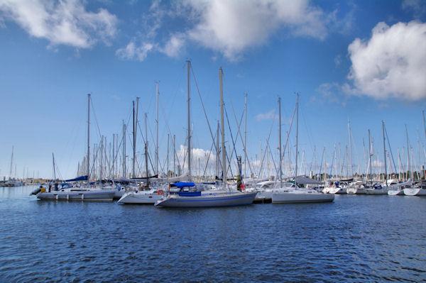 Le Port de Kernével à Lorient