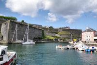 Le Fort Vauban au dessus du port du Palais