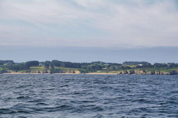 La plade de Bordardoué à Belle Ile