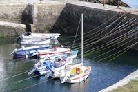 Amarrage a Port Lay sur l'Ile de Groix