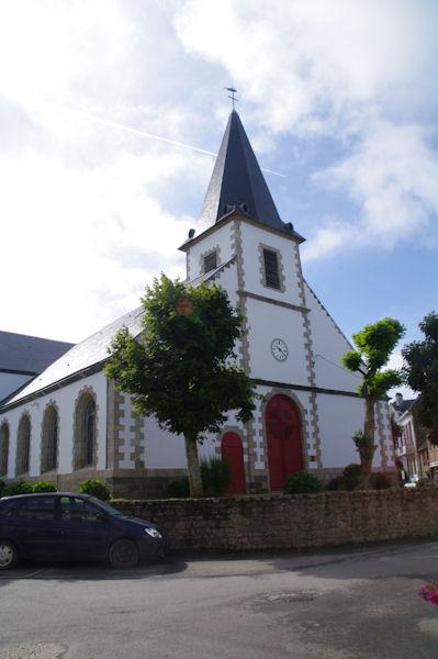 L_église du Bourg sur l_Ile de Groix