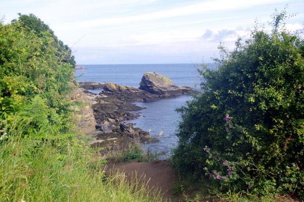 La côte d_Héno sur l_Ile de Groix