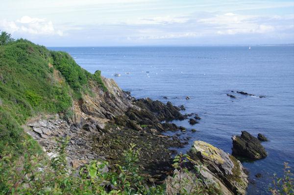 La côte des Sœurs sur l_Ile de Groix