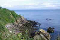 La cote des Sœurs sur l'Ile de Groix