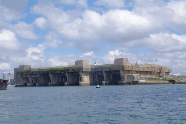 L_ancien abri sous marin de la Pointe de Keroman