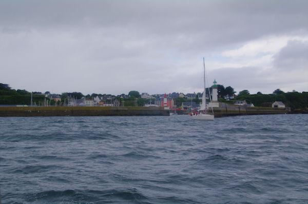 L_entrée de Port Tudy sur l_Ile de Groix