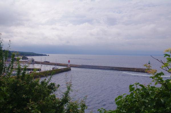 L_entrée de Port Tudy