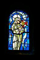 Un vitrail de l&#39eglise St Roch