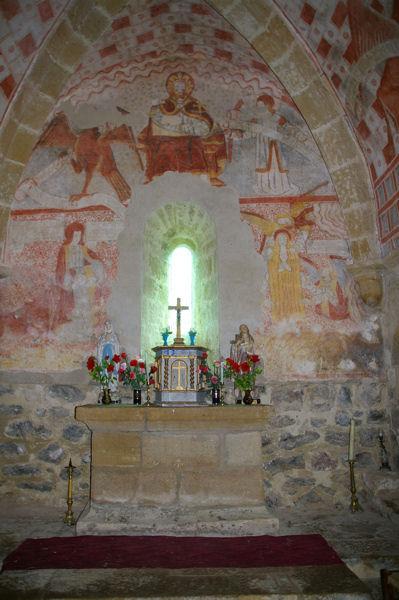 La chapelle de Guirande (Notre Dame de la Pitié)