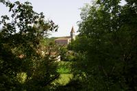 L'eglise de Cabrerets