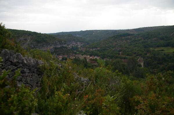 Cabrerets depuis Les Rondouillères