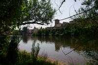 Les rives du Lot a Cahors