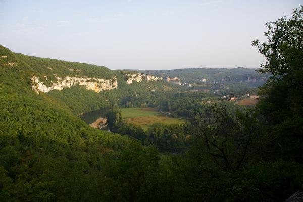 La vallée du Lot après Pasturat