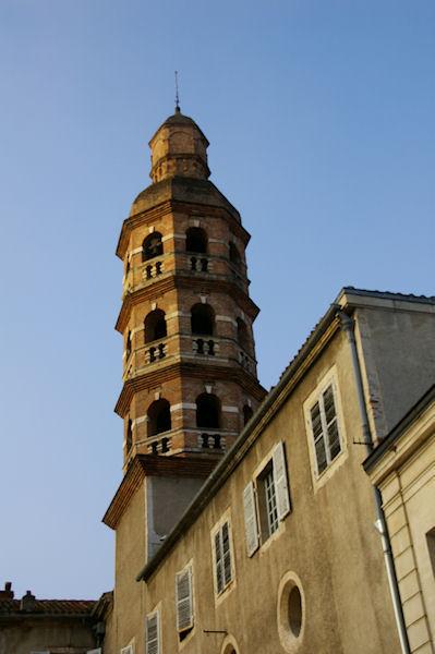 La Tour du Collège Gambetta à Cahors