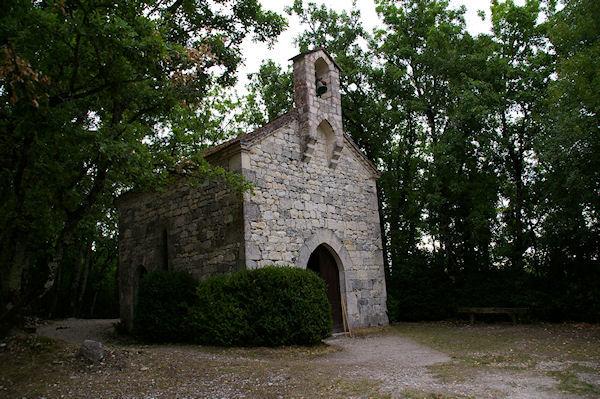 La Chapelle de St Jean après Lascabanes sur le GR65