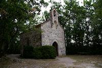 La Chapelle de St Jean apres Lascabanes sur le GR65