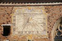L&#39horloge solaire de l&#39Abbatiale St Pierre de Moissac