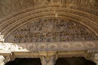 Le tympan de l'Abbatiale St Pierre de Moissac