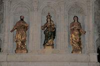 Dans l'Abbatiale St Pierre de Moissac