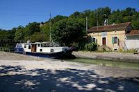 L'ecluse d'Espagnette sur le Canal Lateral a la Garonne