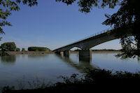Le Pont de Port Haut sur la Garonne