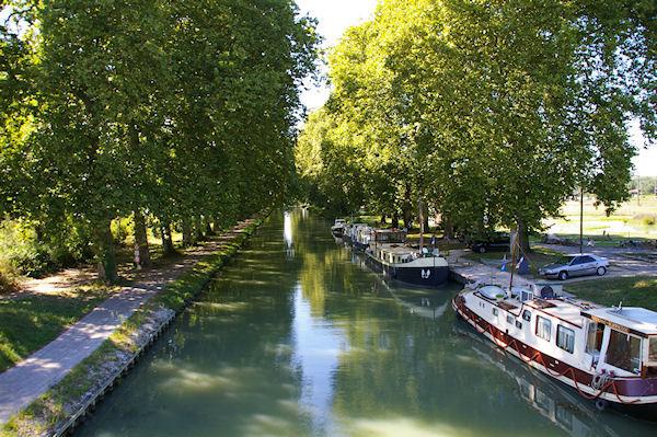 Halte Nautique sur le Canal Latéral à la Garonne à Malause
